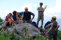 Kinderklettergruppe im Tennengebirge 2016