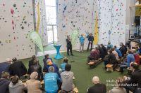 Eröffnung der EnergieWände Kletterhalle Weimar am 04.03.2017